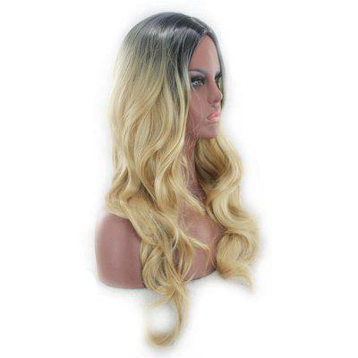 Long Center Parting Ombre Layered Wavy Synthetic WigSynthetic Wigs<br>Long Center Parting Ombre Layered Wavy Synthetic Wig<br><br>Bang Type: Middle<br>Cap Construction: Capless<br>Length: Long<br>Length Size(CM): 60<br>Material: Synthetic Hair<br>Package Contents: 1 x Wig<br>Style: Wavy<br>Type: Full Wigs<br>Weight: 0.2000kg