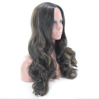 Long Side Part Colormix Wavy Synthetic WigSynthetic Wigs<br>Long Side Part Colormix Wavy Synthetic Wig<br><br>Bang Type: Side<br>Cap Construction: Capless<br>Length: Long<br>Length Size(CM): 60<br>Material: Synthetic Hair<br>Package Contents: 1 x Wig<br>Style: Wavy<br>Type: Full Wigs<br>Weight: 0.1600kg