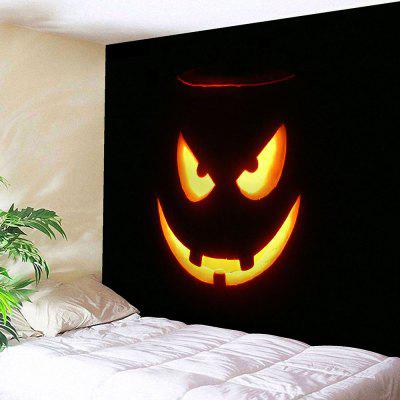 Buy BLACK Halloween Graphic Wall Decor Bedroom Tapestry for $18.42 in GearBest store