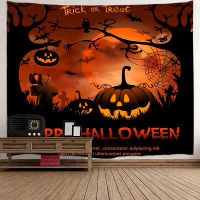 Happy Halloween Wall Hanging TapestryTapestries<br>Happy Halloween Wall Hanging Tapestry<br><br>Feature: Removable, Washable<br>Material: Polyester<br>Package Contents: 1 x Tapestry<br>Shape/Pattern: Print,Pumpkin<br>Style: Festival<br>Theme: Halloween<br>Weight: 0.3100kg
