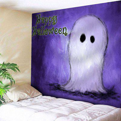 Wall Decor Happy Halloween Ghost Tapestry