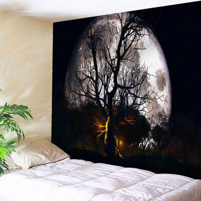 Halloween Moon Night Wall Decor Tapestry