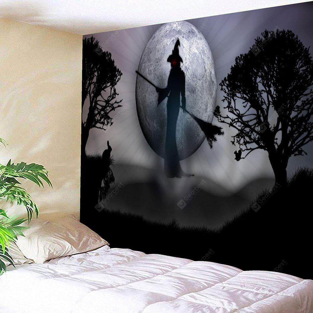 Wall Hanging Halloween Witch Tapestry