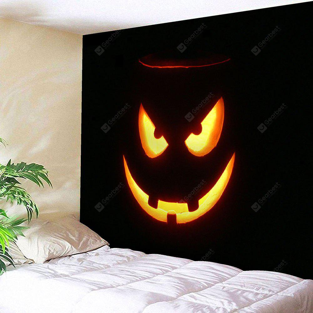 BLACK Halloween Graphic Wall Decor Bedroom Tapestry