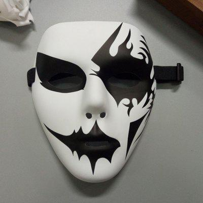 Halloween Party Accessories Hand Painted Mask
