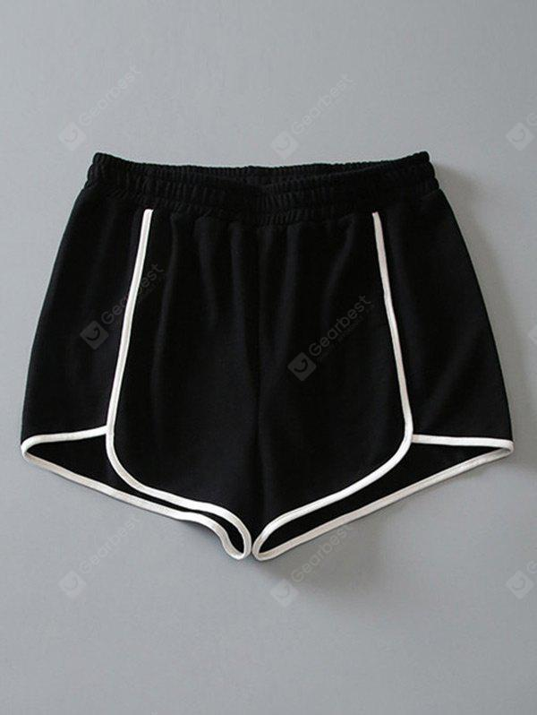 Sporty Cotton Dolphin Shorts