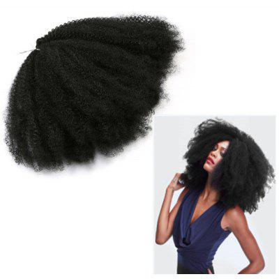Long Shaggy Afro Kinky Curly Synthetic Hair Weave
