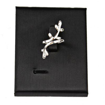 Alloy Leaves Cuff Ring