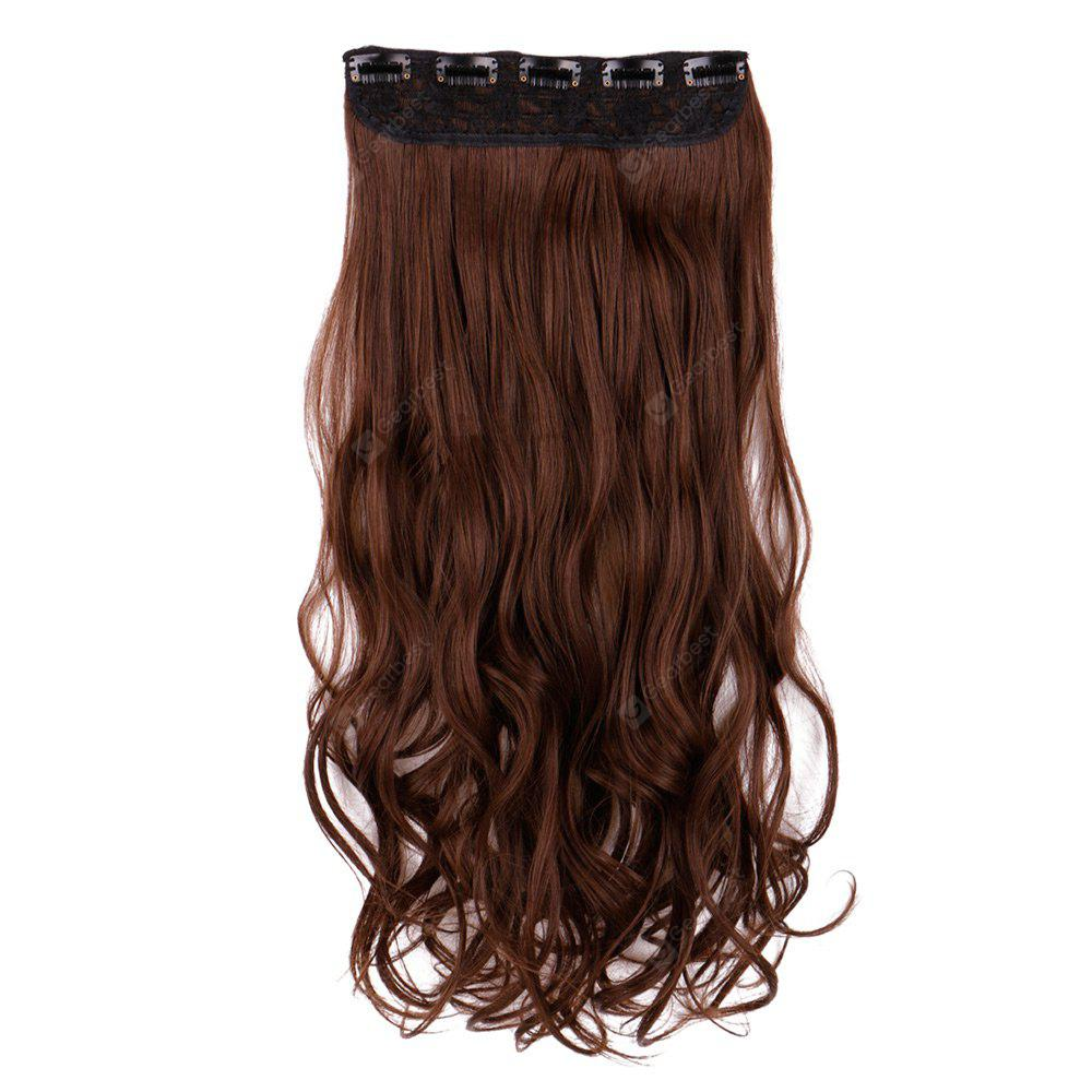 Long Wavy Heat Resistant Synthetic Clip In Hair Extension 1436