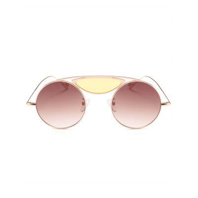 Camber Metal Crossbar Round SunglassesStylish Sunglasses<br>Camber Metal Crossbar Round Sunglasses<br><br>Frame Color: Gold<br>Frame Length: 13.6CM<br>Frame material: Alloy<br>Gender: For Women<br>Group: Adult<br>Lens height: 4.8CM<br>Lens material: Resin<br>Lens width: 4.8CM<br>Nose: 1.6CM<br>Package Contents: 1 x Sunglasses<br>Shape: Round<br>Style: Fashion<br>Temple Length: 14.6CM<br>Weight: 0.1000kg