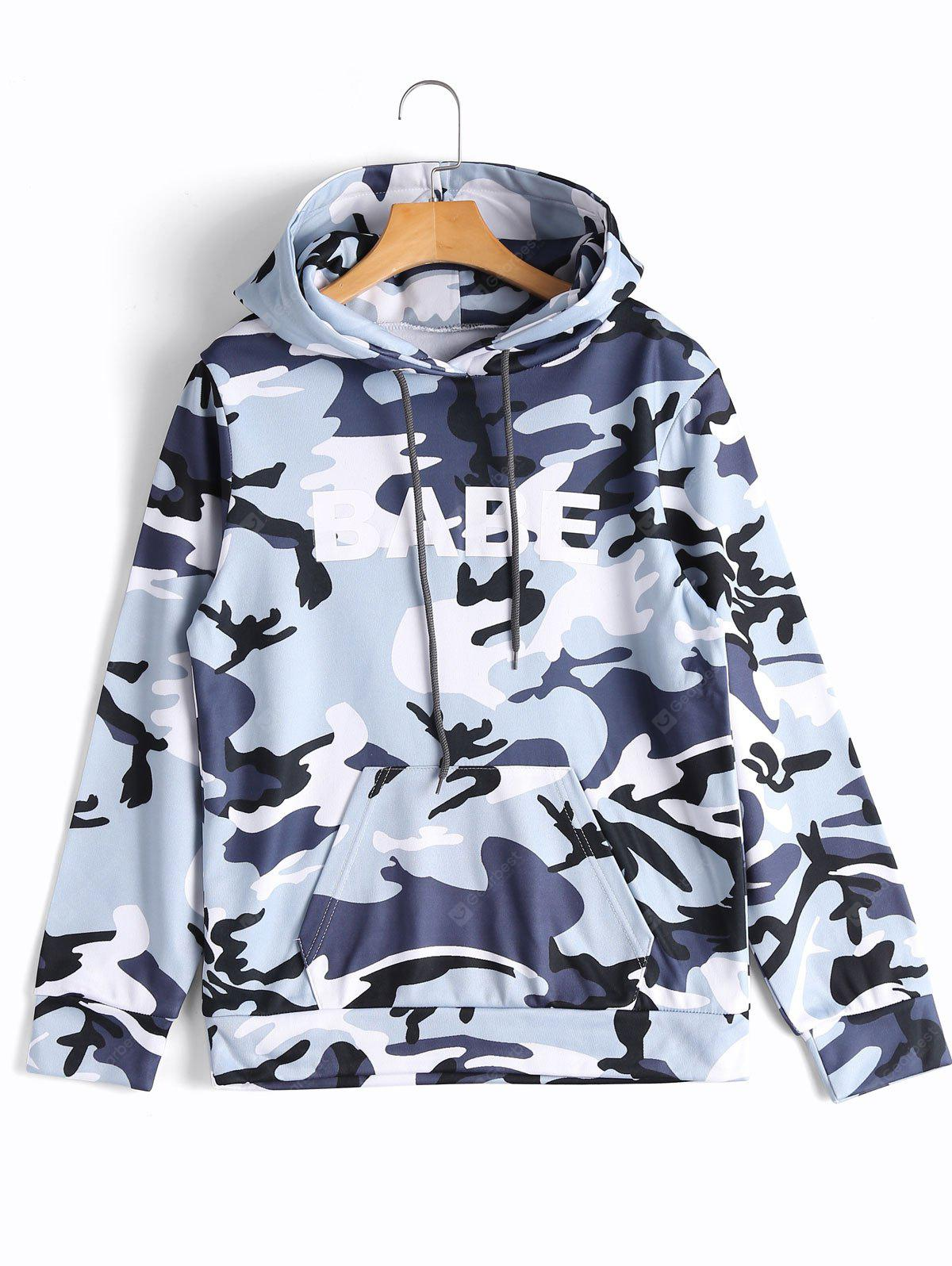 Camouflage Babe Hoodie
