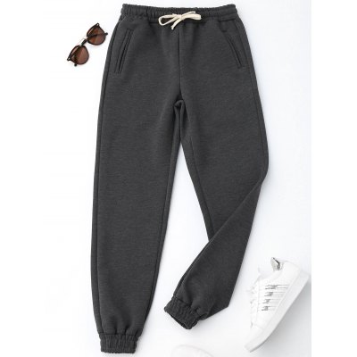 Drawstring Running Jogger Pants