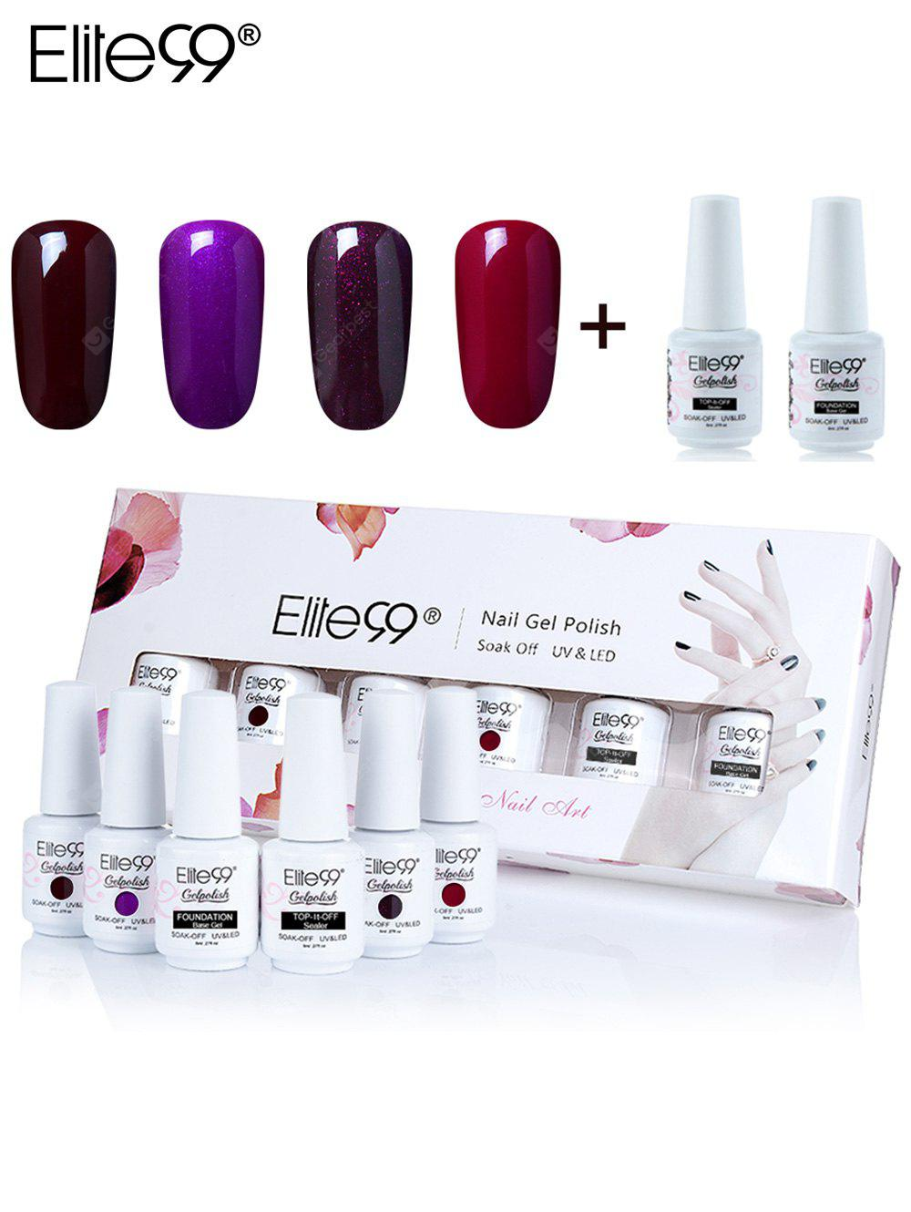 Elite99 Polish UV LED Soak-off Gel Nail Set