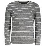 Pull Homme à Rayures - GRIS