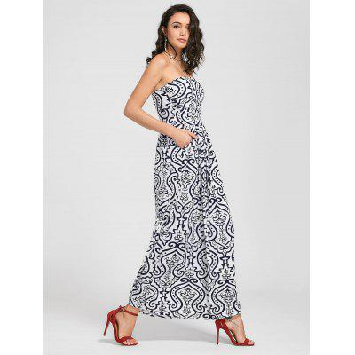 Paisley Print Strapless Maxi DressMaxi Dresses<br>Paisley Print Strapless Maxi Dress<br><br>Dresses Length: Ankle-Length<br>Material: Polyester<br>Neckline: Strapless<br>Package Contents: 1 x Dress<br>Pattern Type: Print<br>Season: Summer<br>Sleeve Length: Sleeveless<br>Weight: 0.4200kg<br>With Belt: No