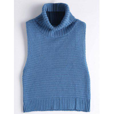 Turtleneck Vest Sweater