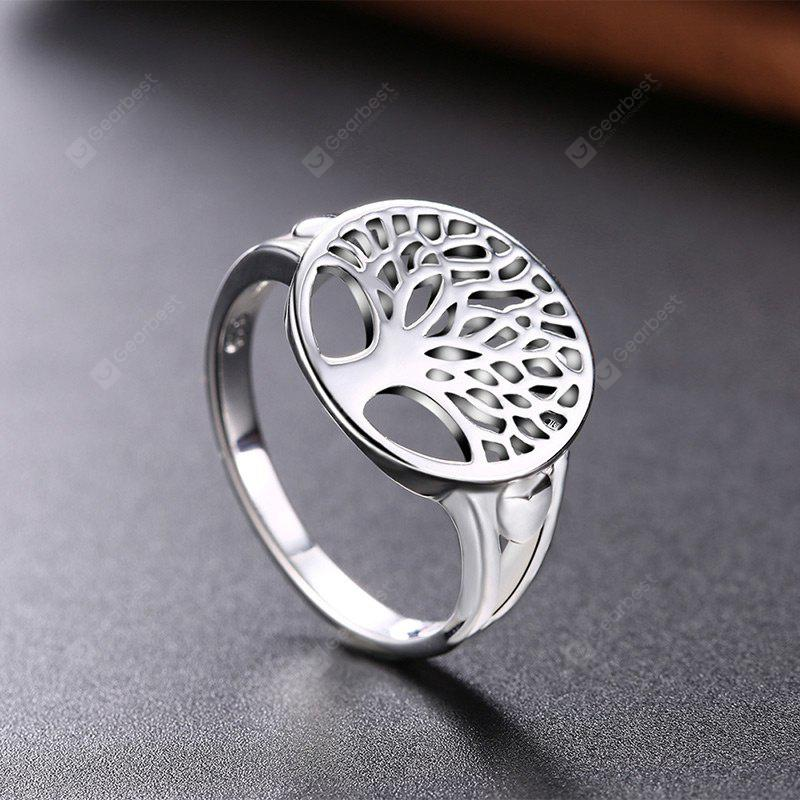 Tree of Life Round Ring