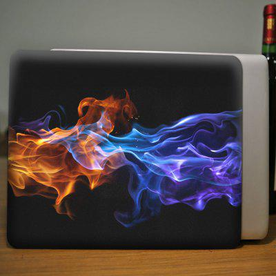 3D Flame Pattern Protective Case for MacBook