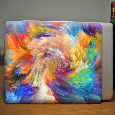 3D Colorful Tie Dye Pattern Protective Case for MacBook