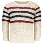 Pull Homme à Rayures - RAL1001BEIGE