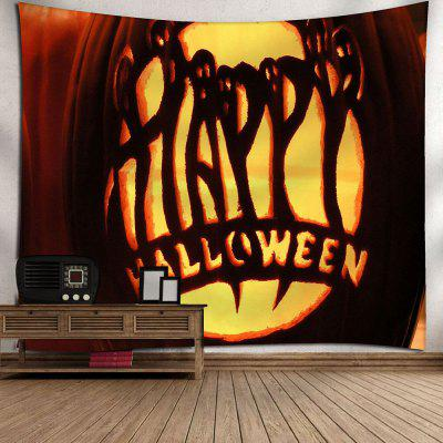 Pumpkin Lamp Halloween Graphic Wall TapestryTapestries<br>Pumpkin Lamp Halloween Graphic Wall Tapestry<br><br>Feature: Removable, Washable<br>Material: Nylon, Polyester<br>Package Contents: 1 x Tapestry<br>Shape/Pattern: Letter,Pumpkin<br>Style: Festival<br>Theme: Halloween<br>Weight: 0.1800kg