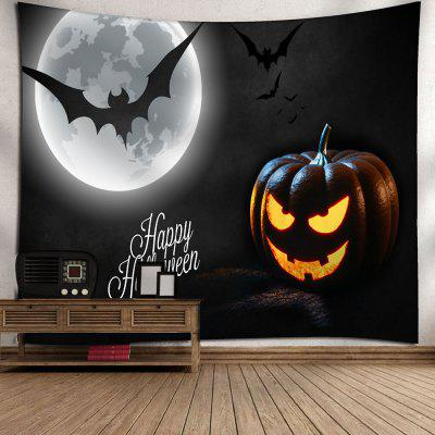 Halloween Pumpkin Lantern Bat Wall TapestryTapestries<br>Halloween Pumpkin Lantern Bat Wall Tapestry<br><br>Feature: Removable, Washable<br>Material: Nylon, Polyester<br>Package Contents: 1 x Tapestry<br>Shape/Pattern: Bat,Moon,Pumpkin<br>Style: Festival<br>Theme: Halloween<br>Weight: 0.3750kg