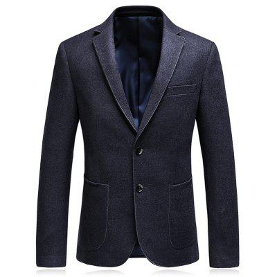 Lapel Collar Single Breasted Business Blazer