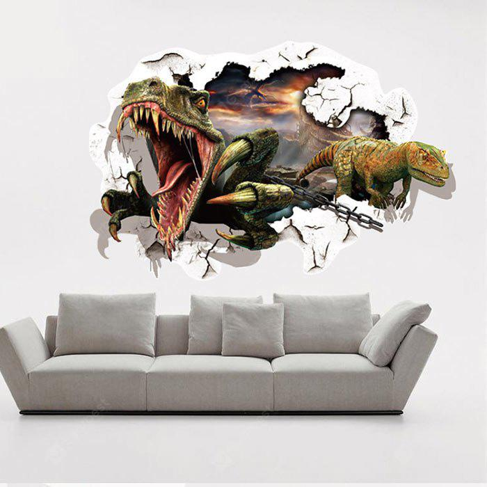 Dinosaurs Pattern Home Decor Wall Sticker