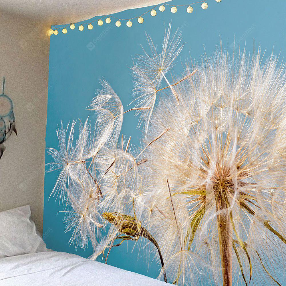 Waterproof Dandelion Seeds Pattern Wall Hanging Tapestry
