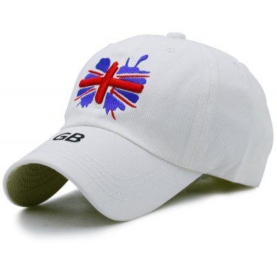 Baseball Hat with England Flag Embroidery