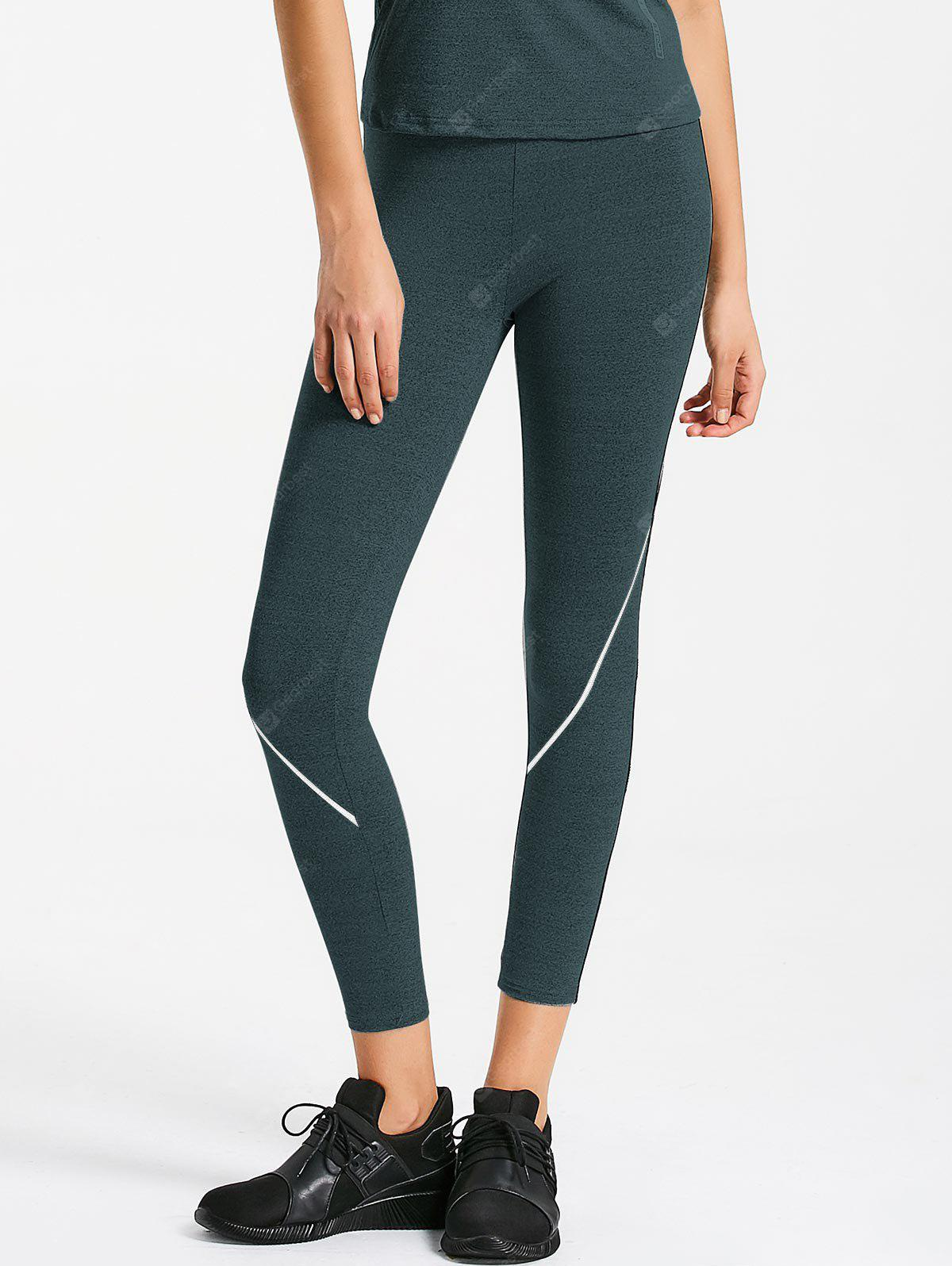 Marled Seam Sports Leggings
