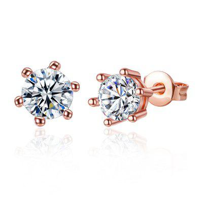 Sparkly Rhinestone Stud Tiny Earrings
