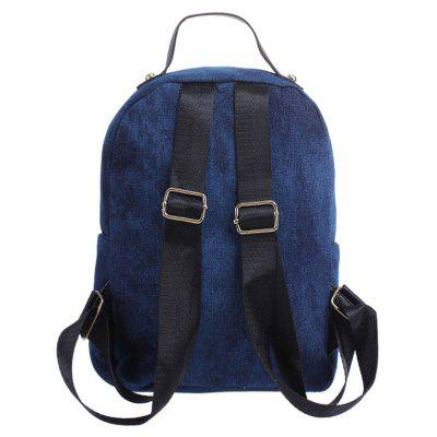 Embroidery Zipper Denim BackpackBackpacks<br>Embroidery Zipper Denim Backpack<br><br>Closure Type: Zipper<br>Embellishment: Embroidery<br>Gender: For Women<br>Handbag Size: Small(20-30cm)<br>Handbag Type: Backpack<br>Interior: Interior Zipper Pocket, Cell Phone Pocket<br>Main Material: Denim<br>Occasion: Versatile<br>Package Contents: 1 x Backpack<br>Pattern Type: Others<br>Size(CM)(L*W*H): 25*11*30<br>Style: Fashion<br>Weight: 0.6000kg