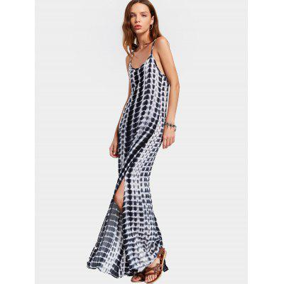 Printed Slit Open Back Cami Maxi DressMaxi Dresses<br>Printed Slit Open Back Cami Maxi Dress<br><br>Dresses Length: Floor-Length<br>Material: Polyester<br>Neckline: Spaghetti Strap<br>Package Contents: 1 x Dress<br>Pattern Type: Print<br>Season: Summer<br>Sleeve Length: Sleeveless<br>Weight: 0.2340kg<br>With Belt: No