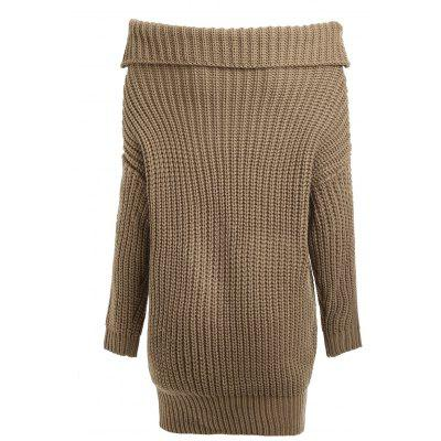 Cable Knit Turtleneck Loose SweaterSweaters &amp; Cardigans<br>Cable Knit Turtleneck Loose Sweater<br><br>Collar: Turtleneck<br>Material: Acrylic, Cotton, Polyester, Spandex<br>Package Contents: 1 x Sweater<br>Pattern Type: Solid<br>Sleeve Length: Full<br>Style: Fashion<br>Type: Pullovers<br>Weight: 0.6000kg