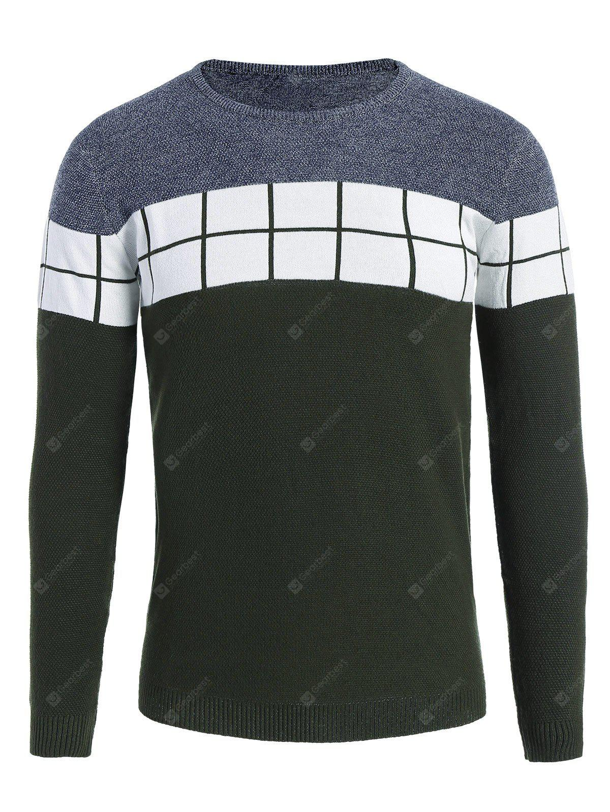 Pull Contrastant pour Homme
