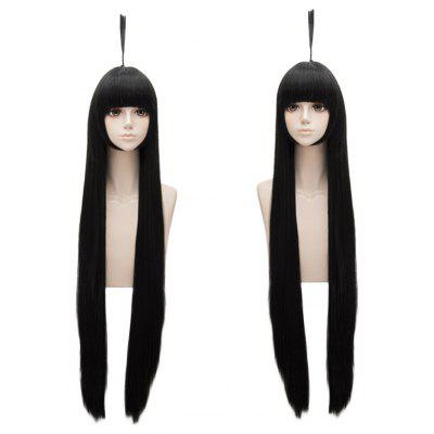 Anime AUTO Kylie Cosplay Long Straight Synthetic Wig