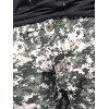 Flap Pockets Camouflage Cargo Jogger Pants - GREEN