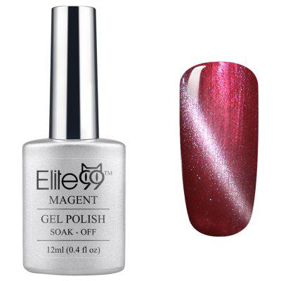 Elite99 UV LED Tremper Off Magnétique 3d Cat Eye Rouge Série Gel Vernis À Ongles