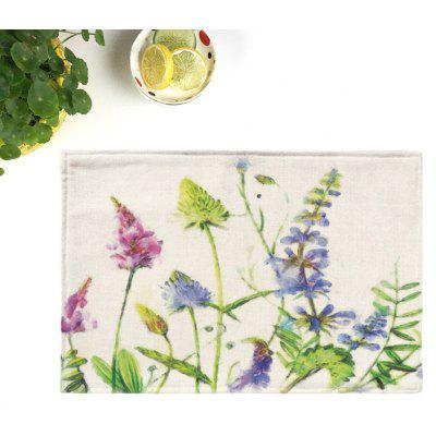 Plant Dining Decor Heat Insulated Placemat