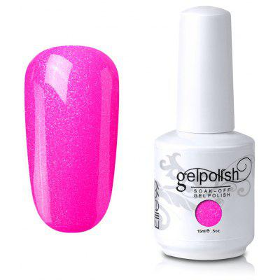 Soak Off UV LED Multi-color Gel Polish Elite99 Nail Art Glitter Clear 15ml
