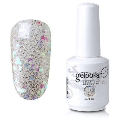 Elite99 Soak-off UV LED Gel Polish Lacquer Sequins Nail Art