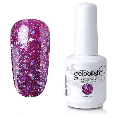 Full Sequins Gel Polish Soak Off UV LED Elite99 Nail Art Lacquer