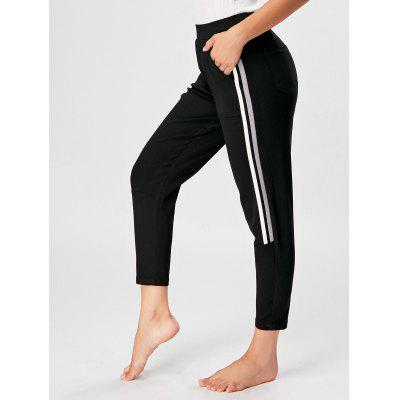 Striped Athletic Pants
