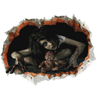 Halloween Zombie 3D Broken Wall Art Sticker For BedroomHalloween Supplies<br>Halloween Zombie 3D Broken Wall Art Sticker For Bedroom<br><br>Feature: Removable<br>Functions: Decorative Wall Stickers<br>Material: PVC<br>Package Contents: 1 x Wall Sticker<br>Pattern Type: 3D<br>Size(L*W)(CM): 60*45cm<br>Theme: Halloween<br>Wall Sticker Type: 3D Wall Stickers<br>Weight: 0.1440kg