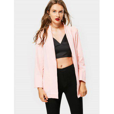 Open Front Casual Blazer