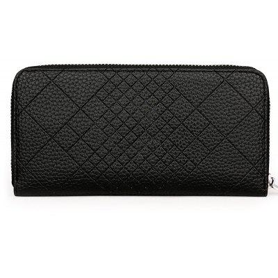 Quilted Clutch Wallet