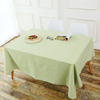 Plaid Pattern Table Cloth