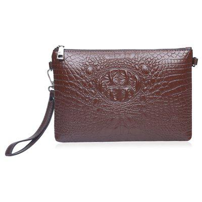 Alligator Embossed Faux Leather Writlets