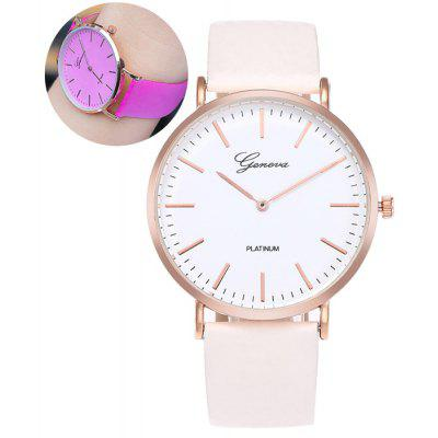 Buy Color Change In The Sunlight Analog Watch TUTTI FRUTTI Watches & Jewelry > Women's Watches for $8.65 in GearBest store